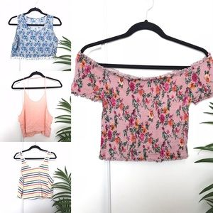 Summer Cropped Tank Top